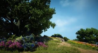 ▲セレンディア草原の描かれた風景画